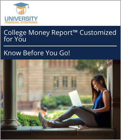 Image Displaying College Money Report